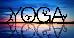 yoga letras grandes